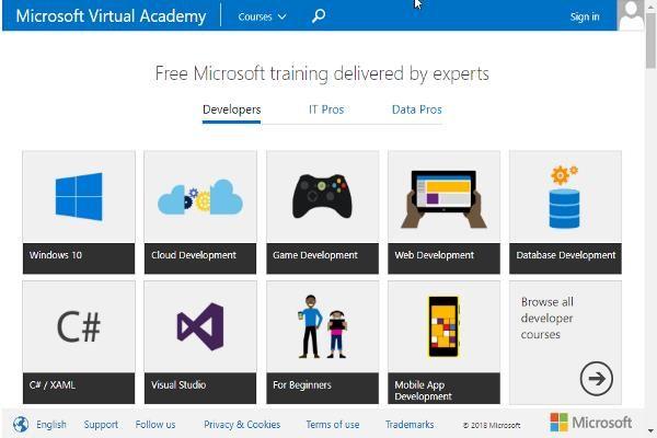 Academia Virtual de Microsoft