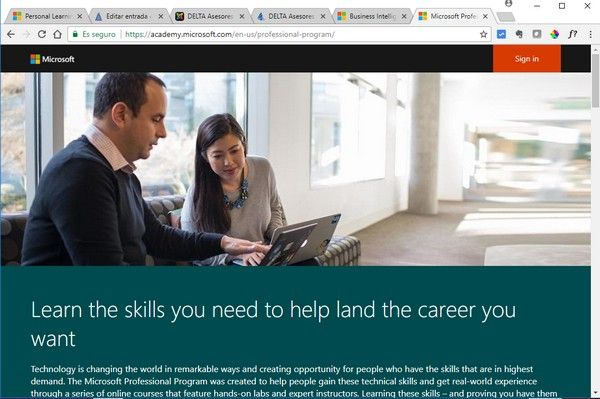 Programa Profesional de Microsoft