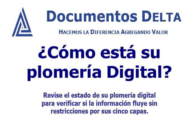 Documento: ¿Cómo está su Plomería Digital?