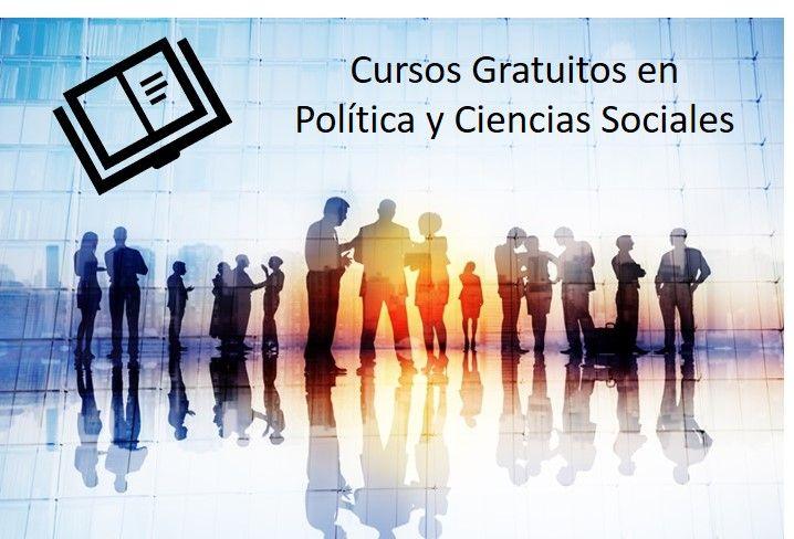 24 cursos gratuitos sobre política y ciencias sociales
