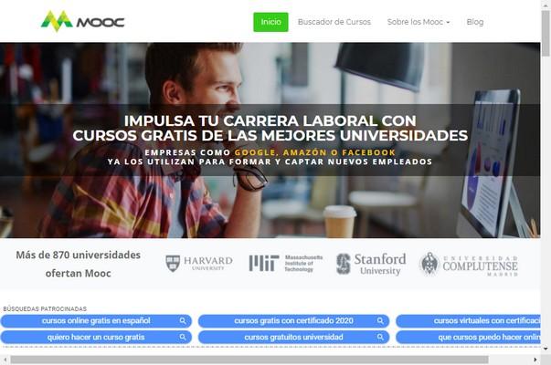 Cursos gratuitos Online en modalidad MOOC