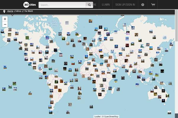 Ciudades del mundo en 360°