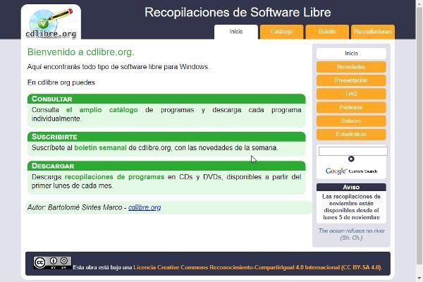 Software Libre para descargar