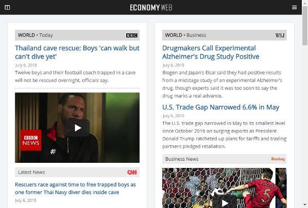 Web de economía y negocios