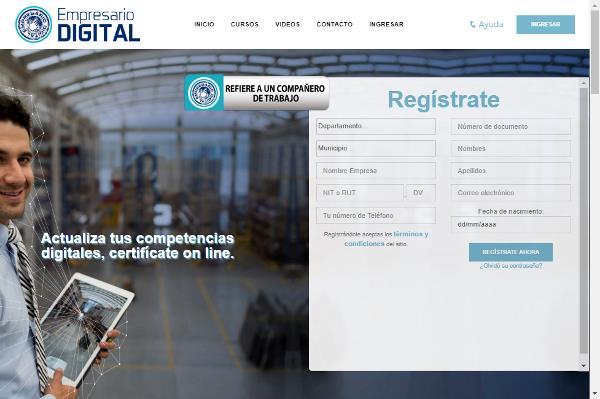 Empresario Digital, formación gratuita