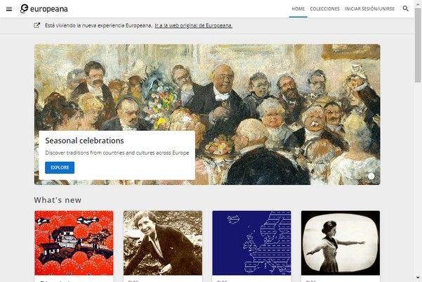 Europeana – Millones de libros, arte y música de manera gratuita