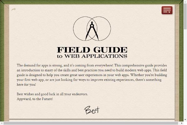 Guía para aplicaciones Web