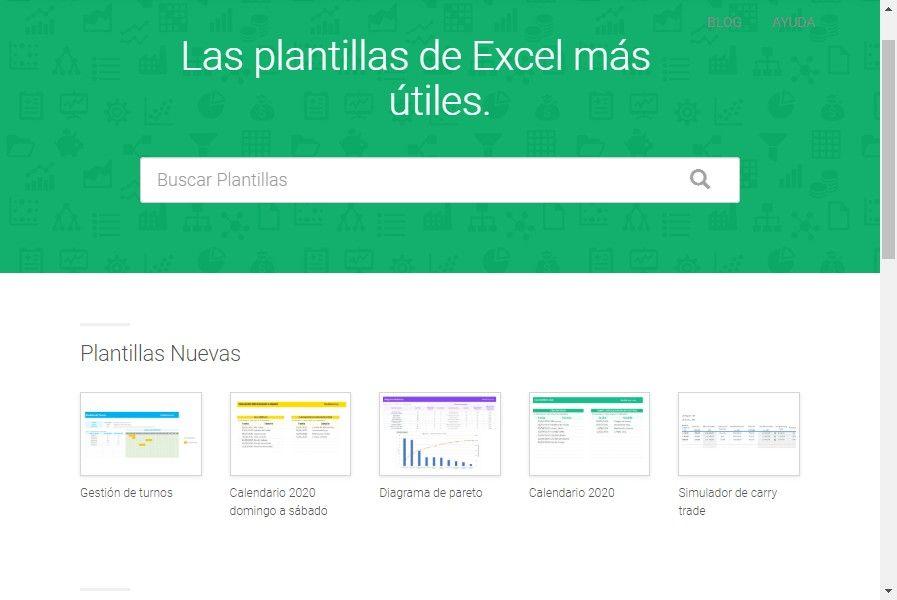 100+ Plantillas de Excel para descargar y usar