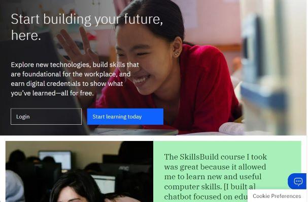 Cursos gratis y en español habilitados por IBM