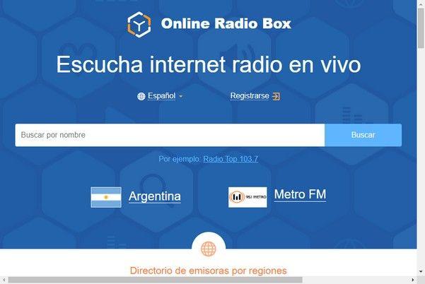 Escuche estaciones de radio de todo el mundo gratuitamente