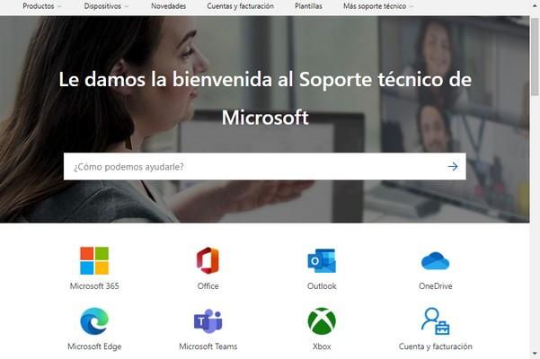 Soporte de Microsoft