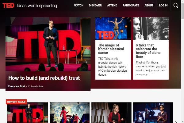TED: ideas que vale la pena difundir
