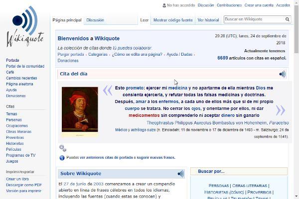 Wiki de Citas Célebres