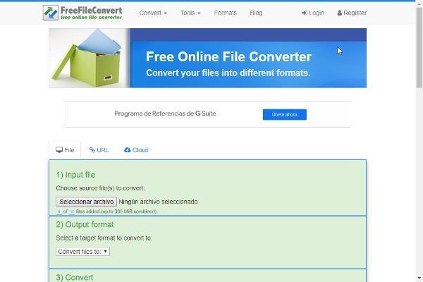 Convertidor de Formatos de Archivos