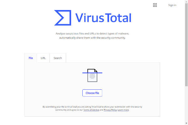 Antivirus y Antimalware en línea