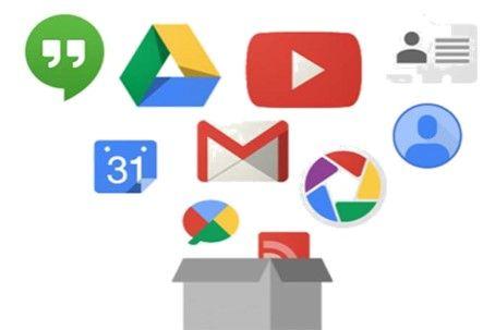 Copia de respaldo de su cuenta de Google
