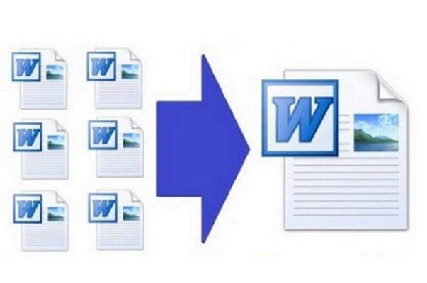 Combine fácilmente varios documentos en Word